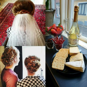 bröllop bruduppsättning